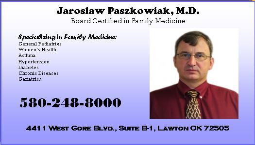Jaroslaw Paszkowiak, M.D.