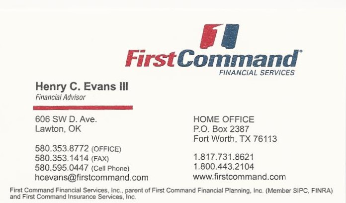 first-command-henry-evans