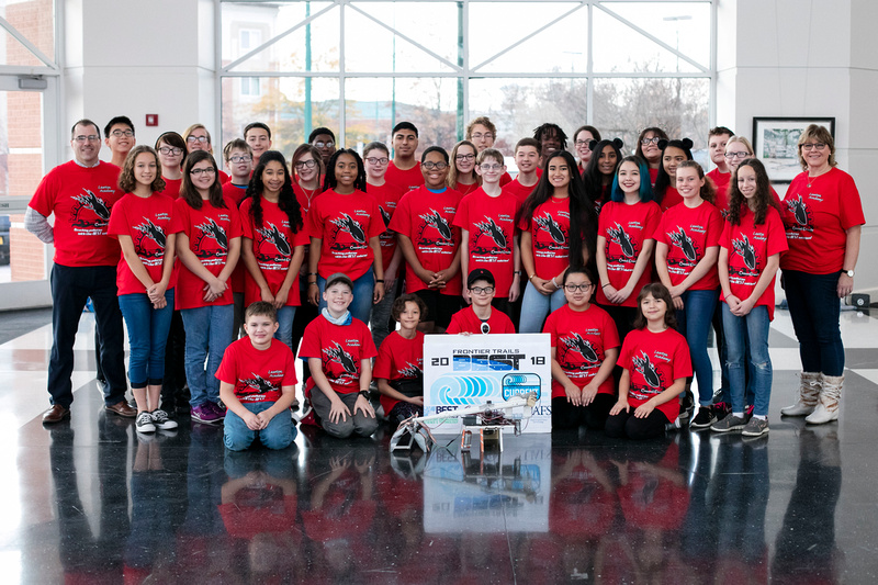 Lawton Academy Robotics Team @ Frontier Trails BEST