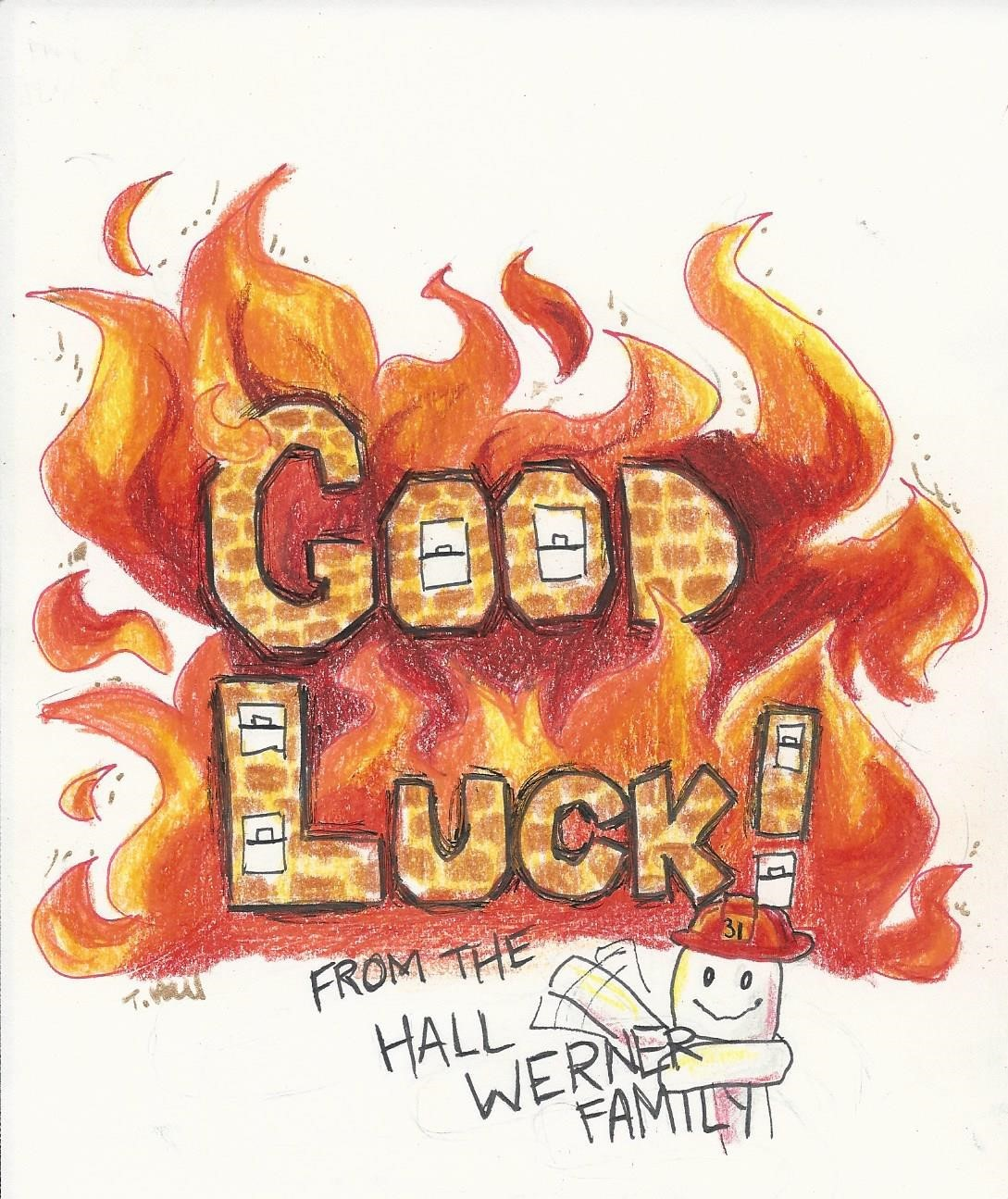 Hall-Werner Good Luck