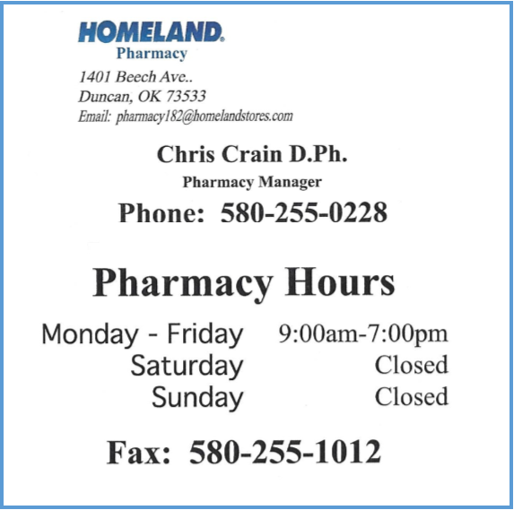 Homeland Pharmacy