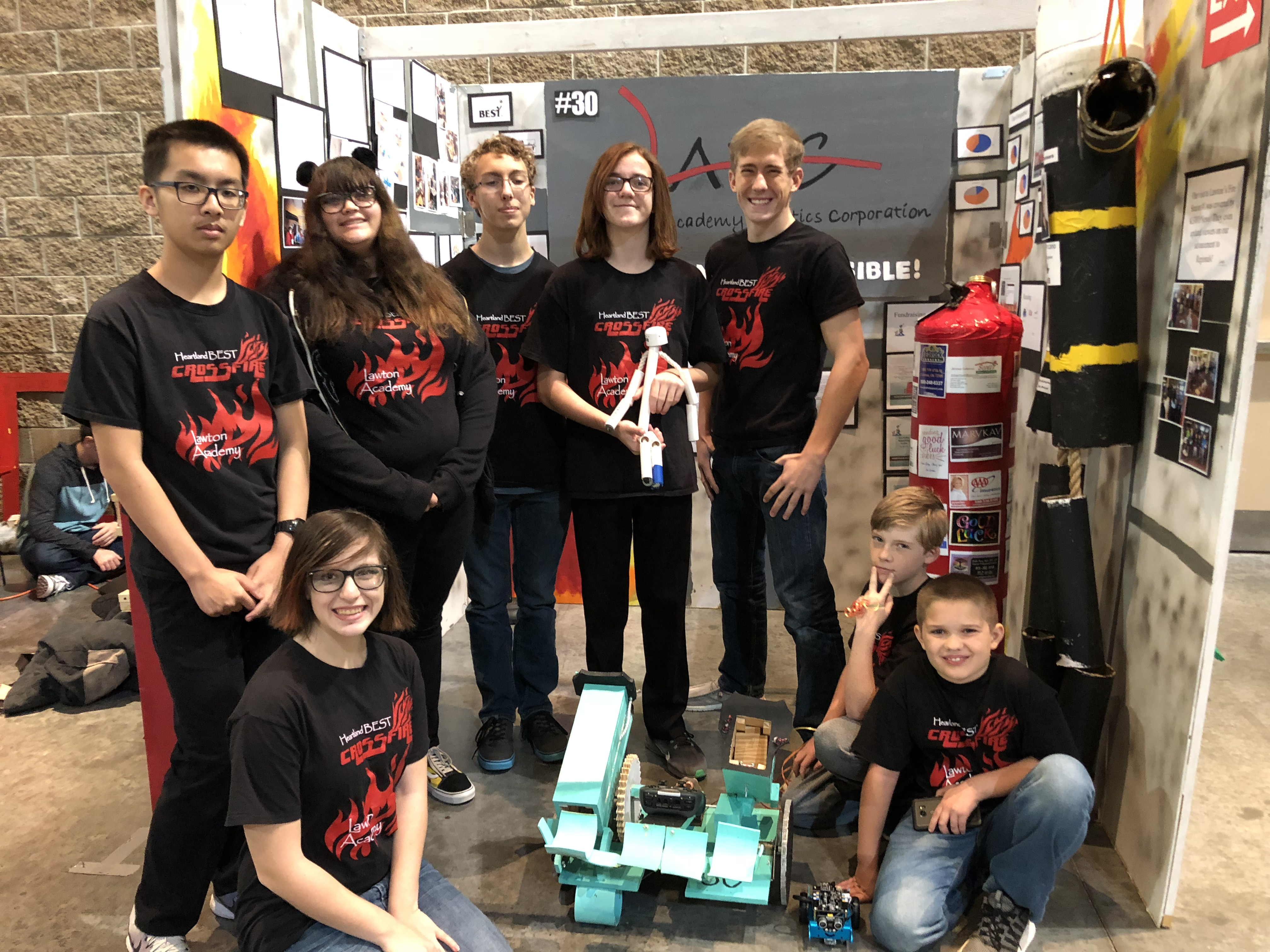 LAAS Exhibit at Frontier Trails BEST Robotics Competition