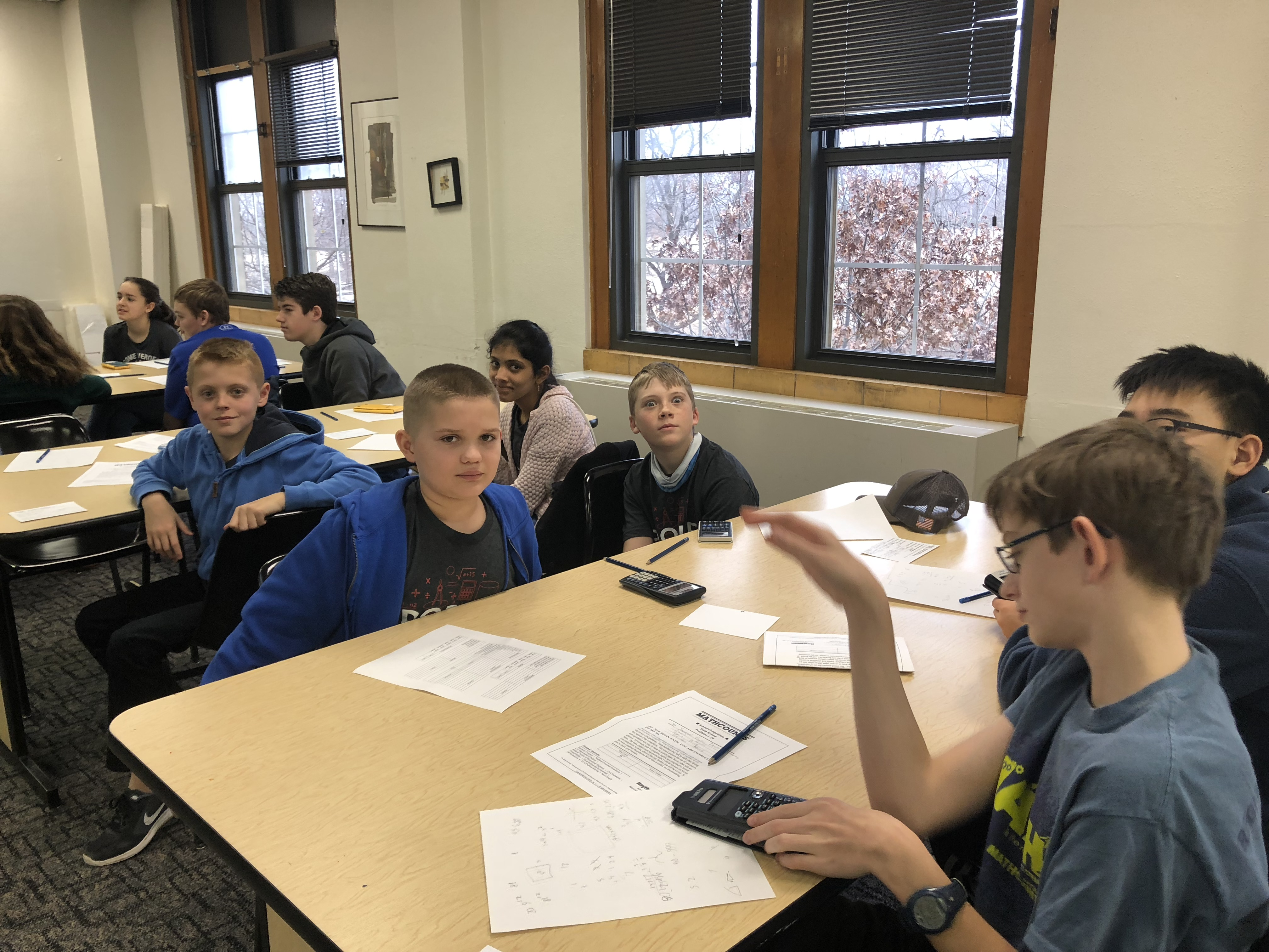 OSSM Mock MathCounts Competition