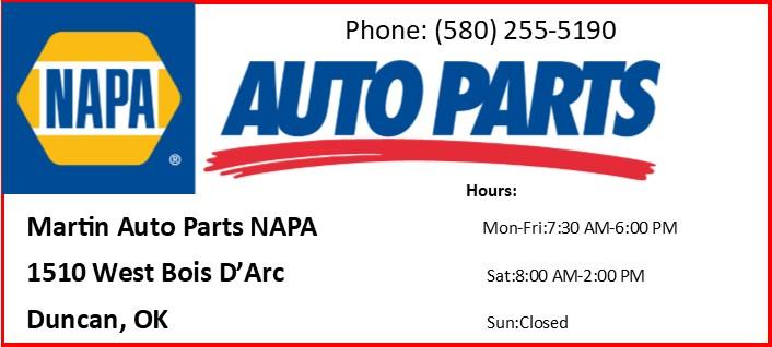 Martin Auto Parts NAPA