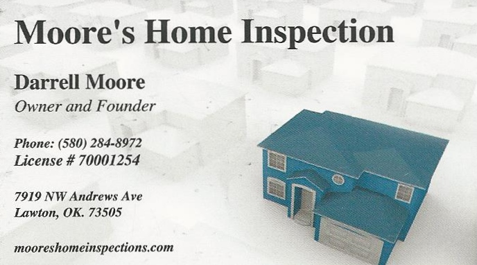 Moore's Home Inspection