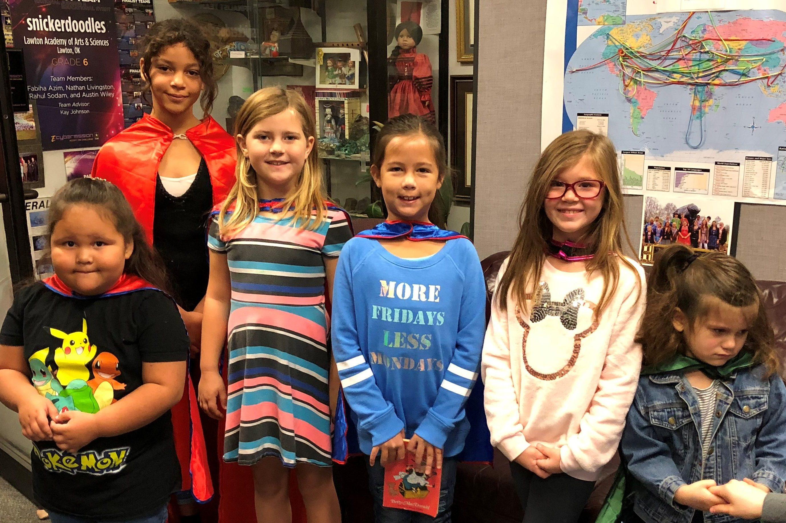 October Superhero Decision Makers
