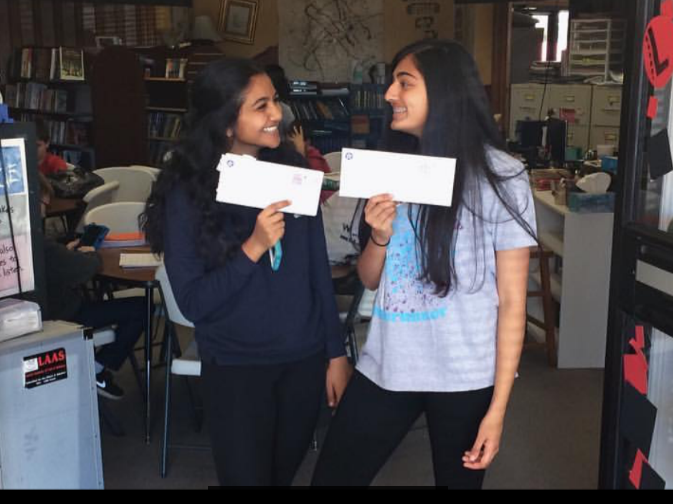 Pooja & Nitya make it to semifinals for admission to OSSM!