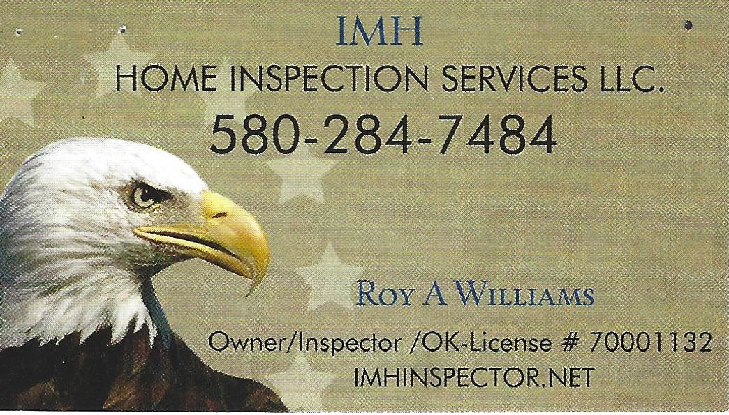 Roy Willaims Home Inspection 2