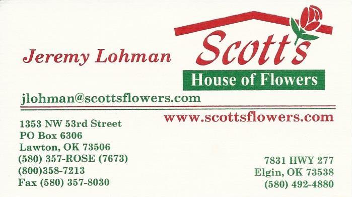 Scott's House of Flowers