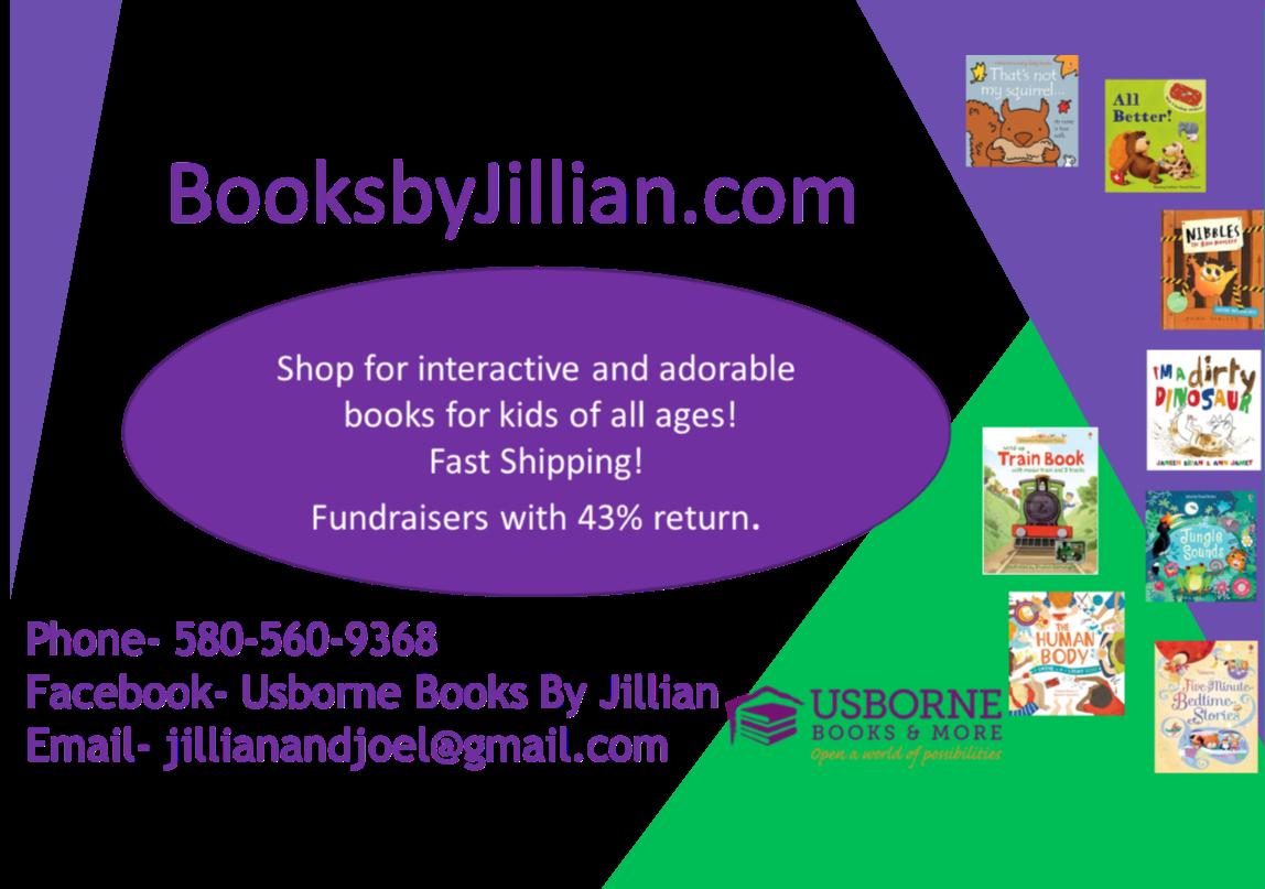 Usborn Books by Jillian